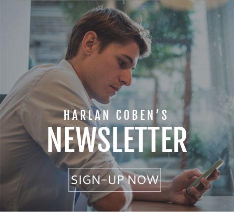Harlan Coben newsletter