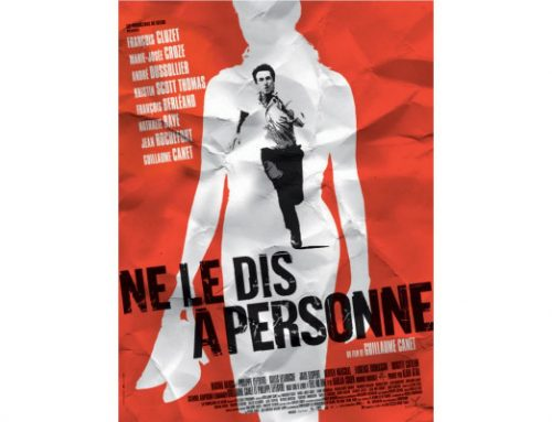 The French movie poster for Ne Le Dis A Personne, aka TELL NO ONE.