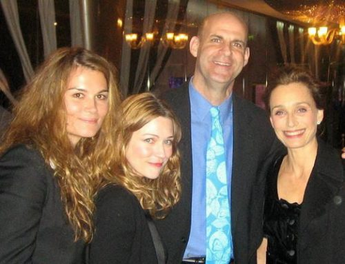 Premiere! Marina Hands, Marie Josee Croze and Kristin Scott Thomas